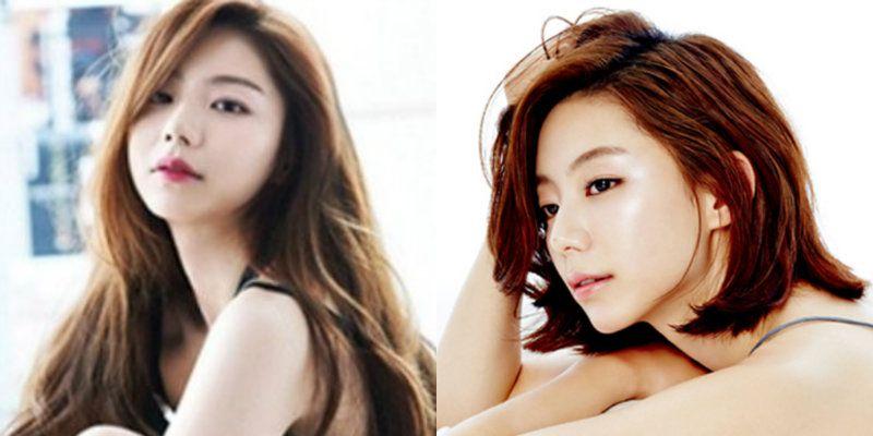 фото корейских знаменитостей прически
